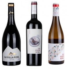 Pack 6 botellas premium La Villa Real