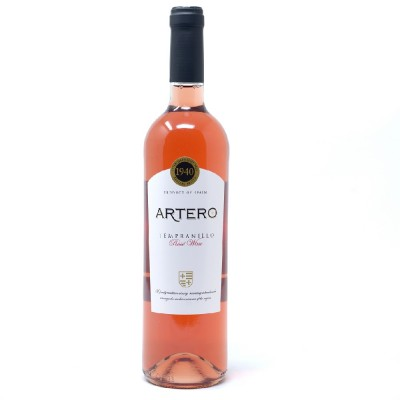 Pack de 3 botellas Artero rosado 2019