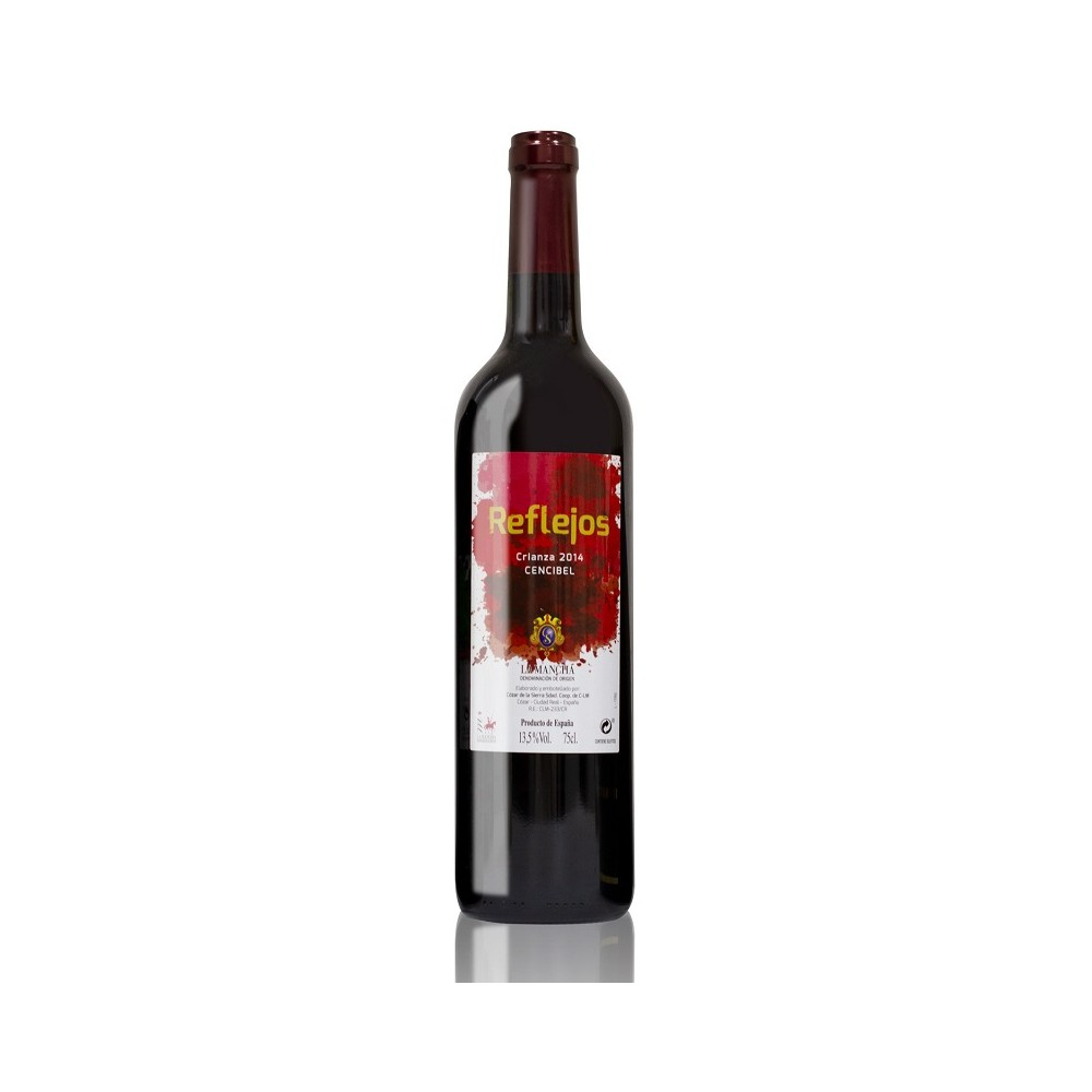 vino Reflejos Crianza Tempranillo 2014