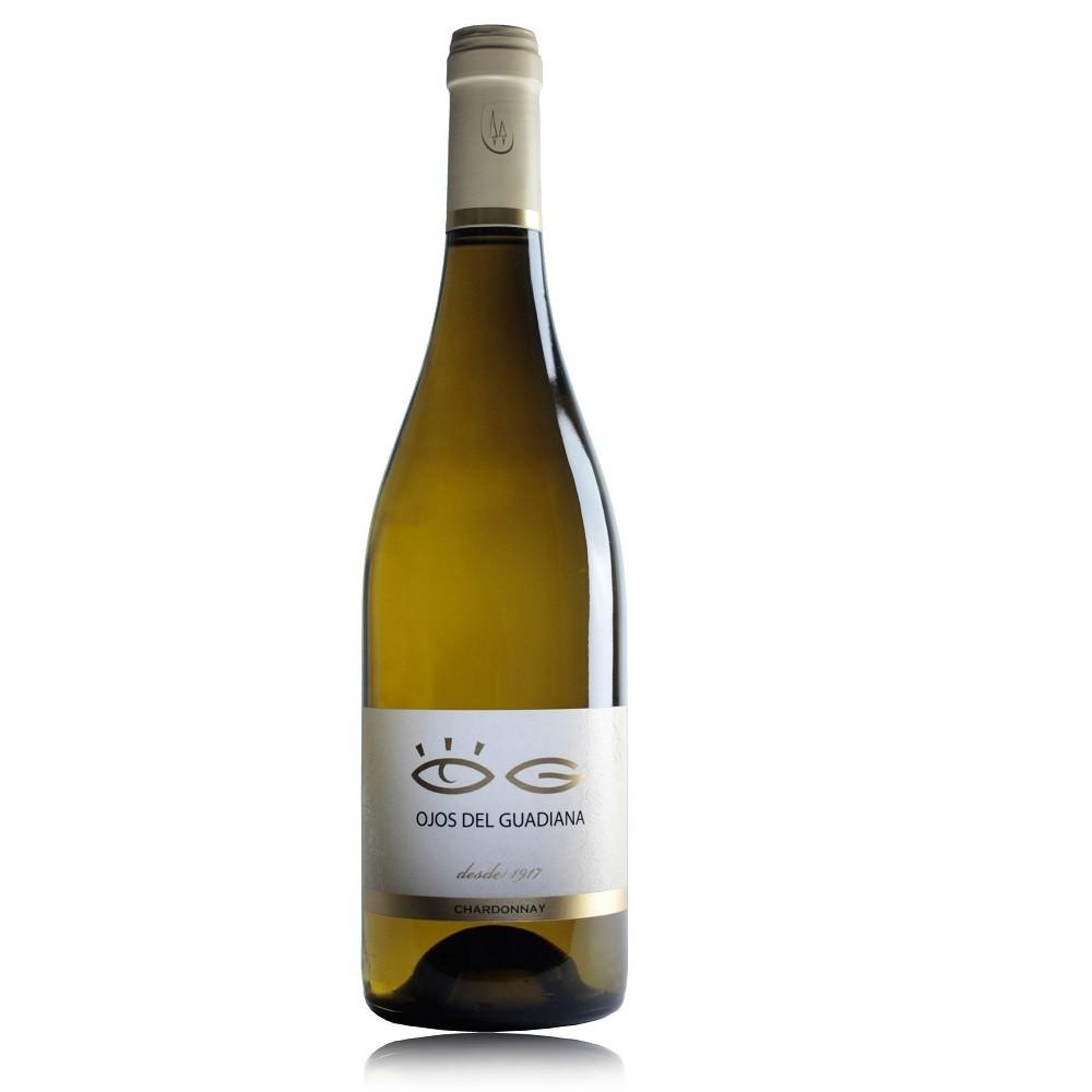 vino Ojos del Guadiana Chardonnay 2019 - Bodegas El Progreso